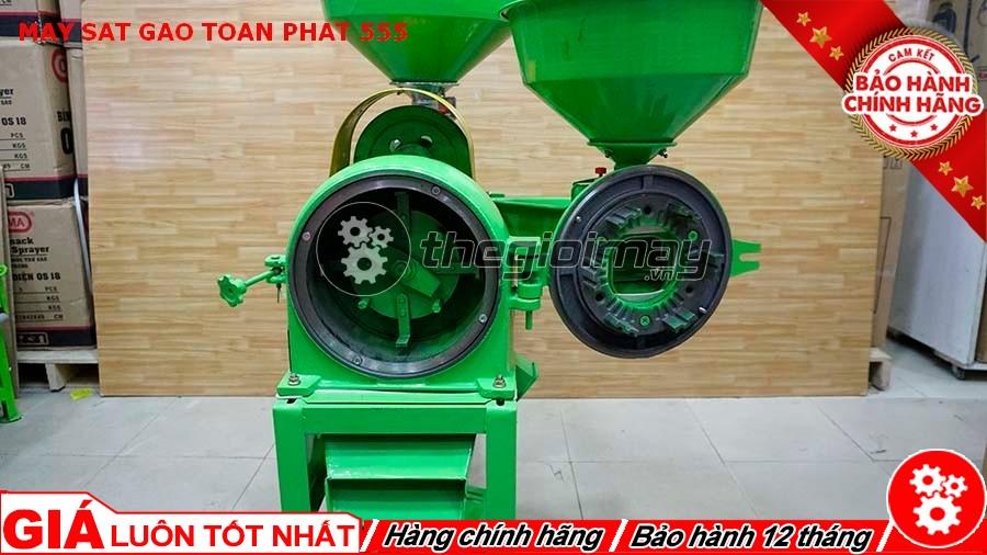 Đầu nghiền máy xát gạo Toàn Phát 555