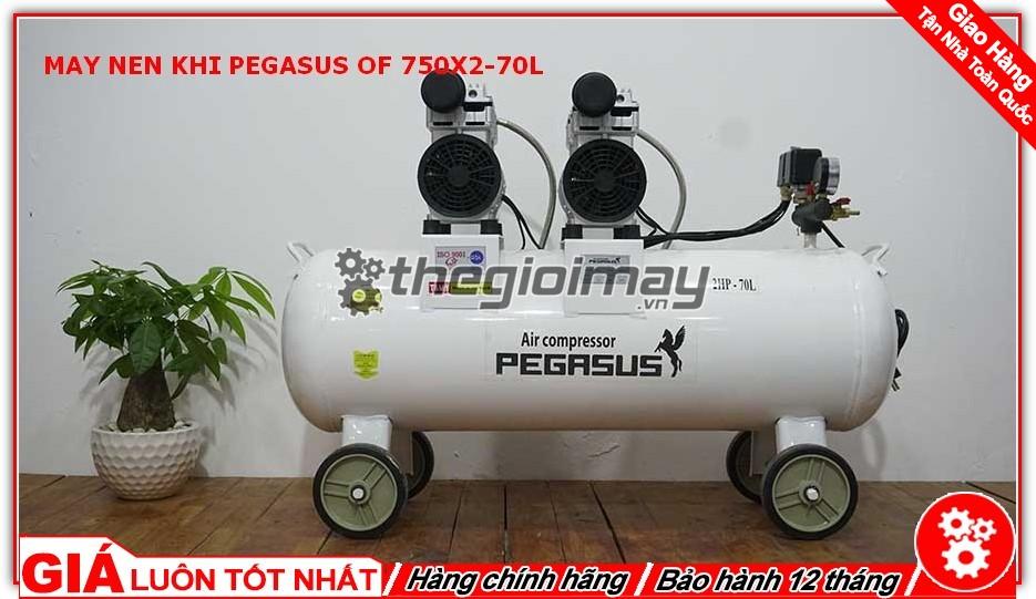 Máy cho ra lượng khí sạch, không có dầu nên không gây hại cho sức khỏe và không gây ô nhiễm môi trường.