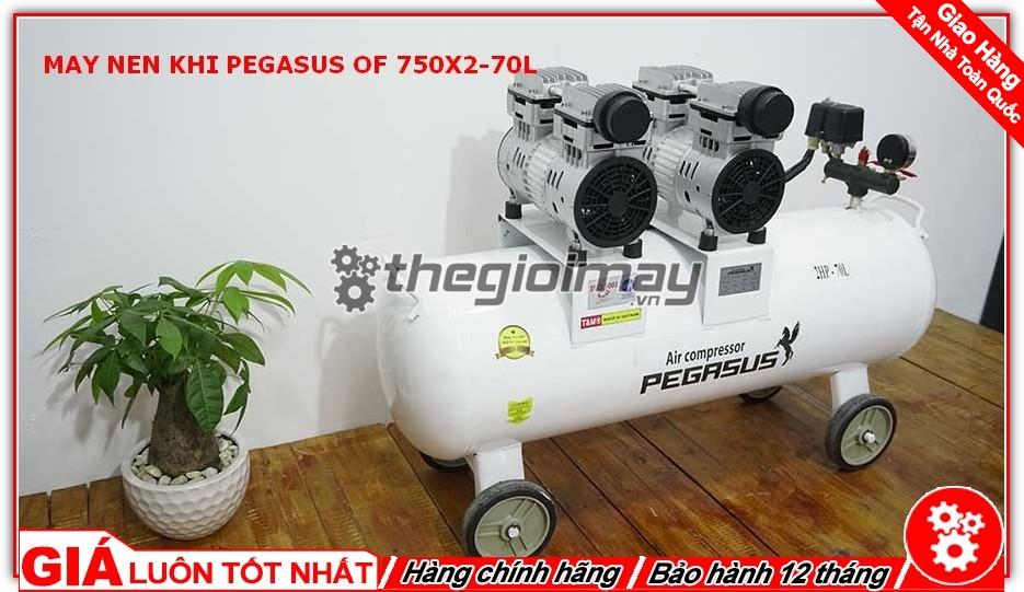 Pegasus TM-OF750x2 sản sinh ra lượng khí cực nhanh đạt 290 lít/phút giúp hoàn thành công việc nhanh chóng và hiệu quả