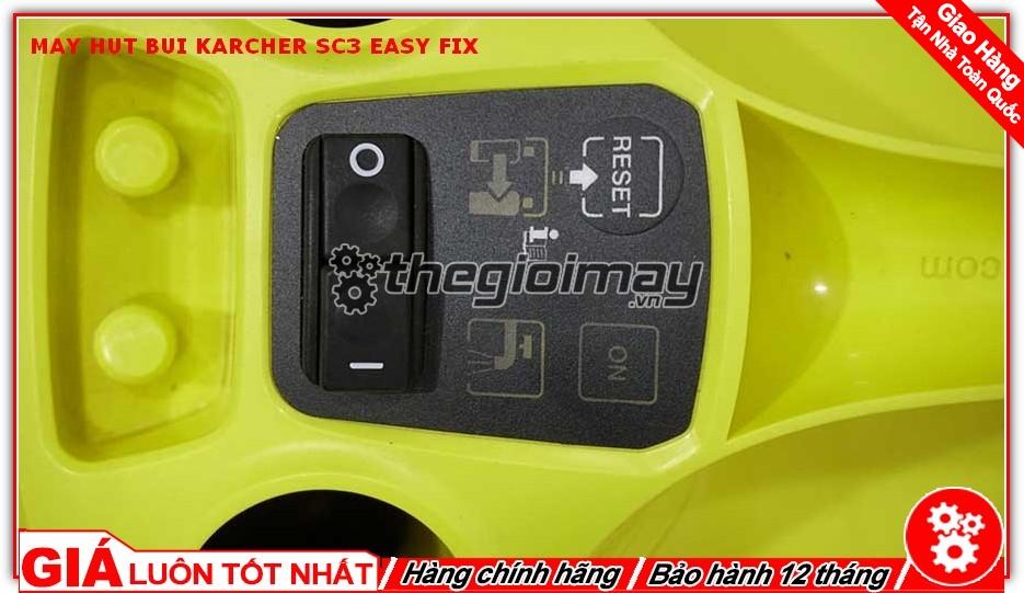 Hệ thống điều khiển của Karcher sc3 easy fix