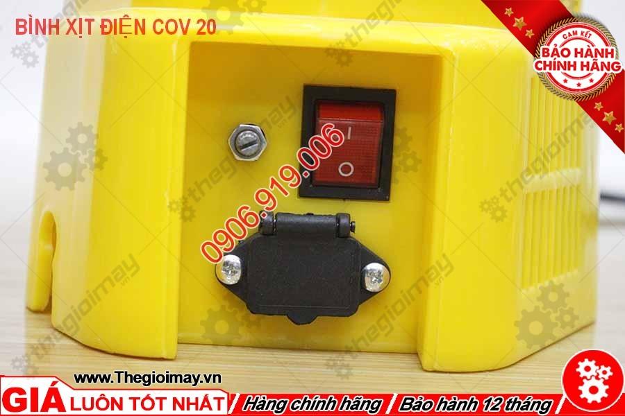Công tắc bình xịt điện con ong vàng COV 20D