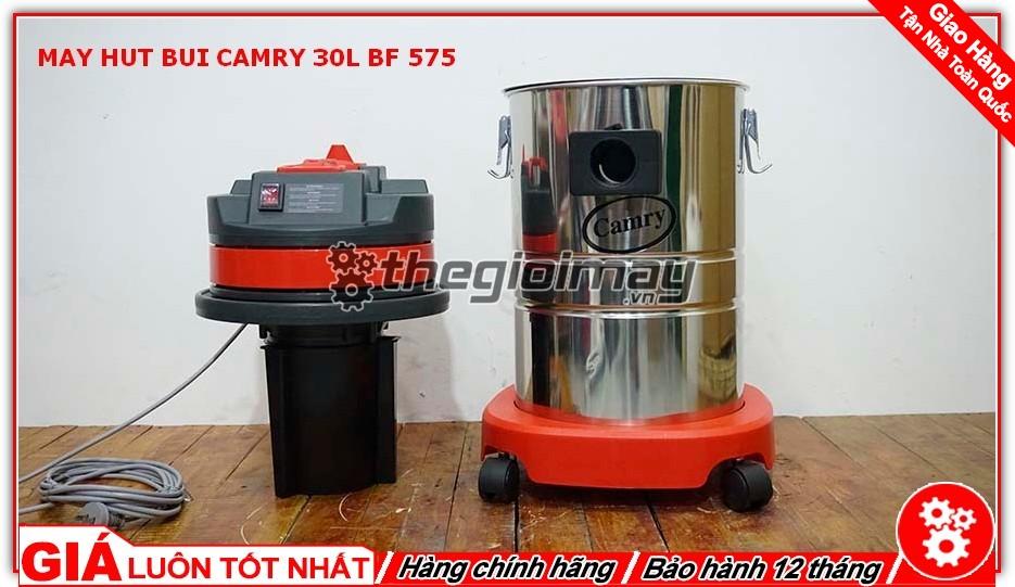 Thùng và động cơ máy hút bụi CAMRY 30L BF-575