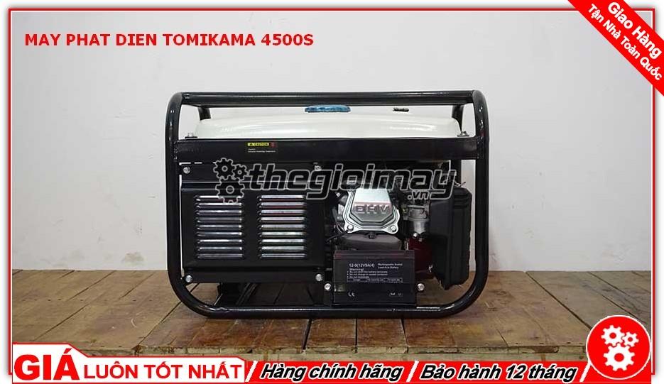 Máy phát điện TOMIKAMA 4500S uy tìn hàng đầu