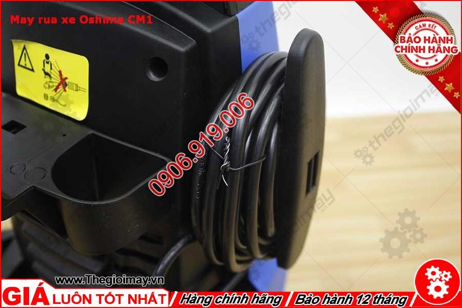 Chỗ quấn dây điện máy xịt rửa oshima CM1