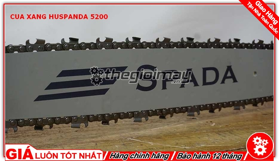 Lam xích của Huspanda 5200