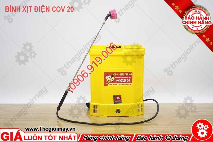 Cần xịt bình xịt điện con ong vàng COV 20D