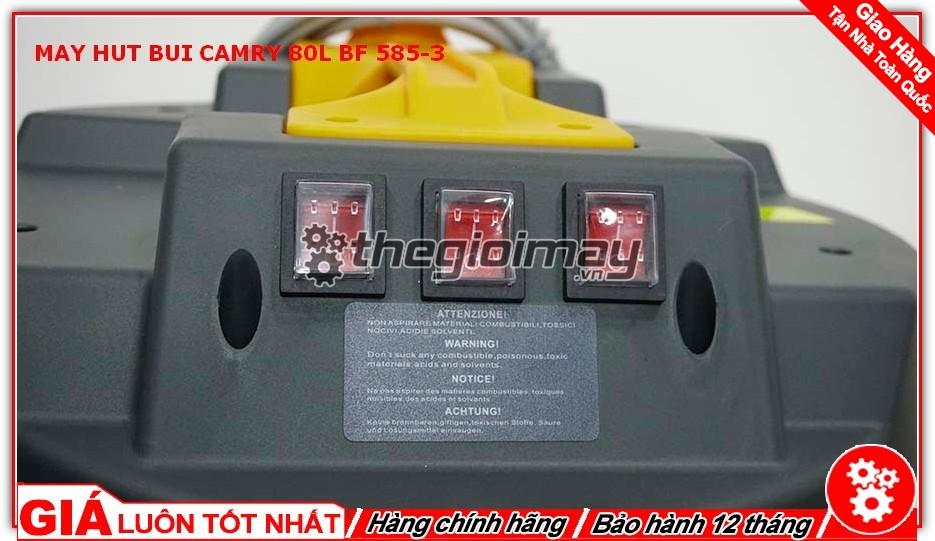 Công tắc máy hút bụi CAMRY 30L BF-585-3