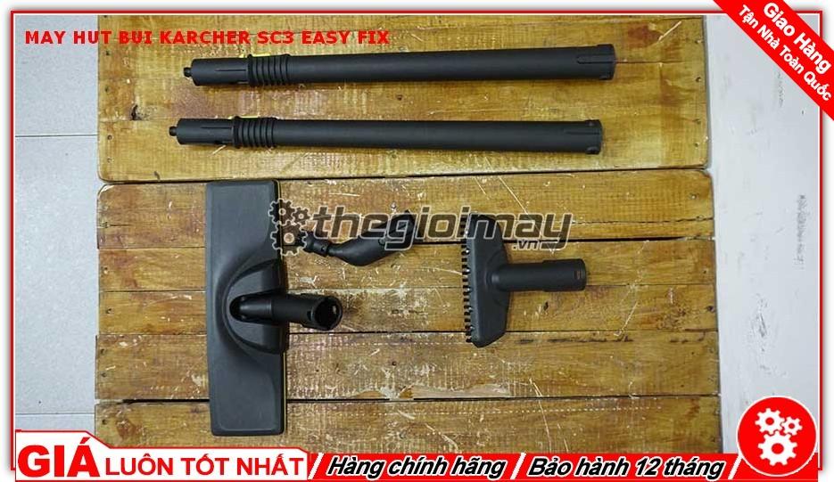 Phụ kiện đi kèm máy hút bụi Karcher SC3 easy fix