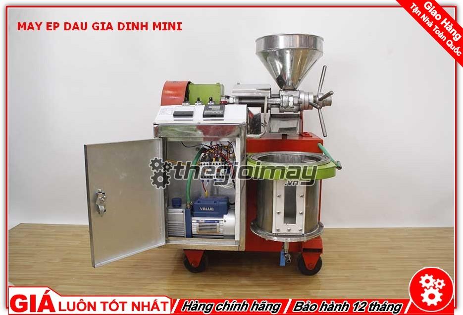 Máy ép dầu mini OKASU TK39