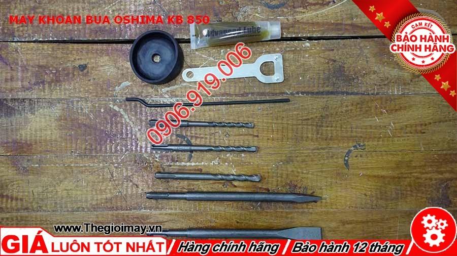 Phụ kiện máy khoan búa Oshima KB 850