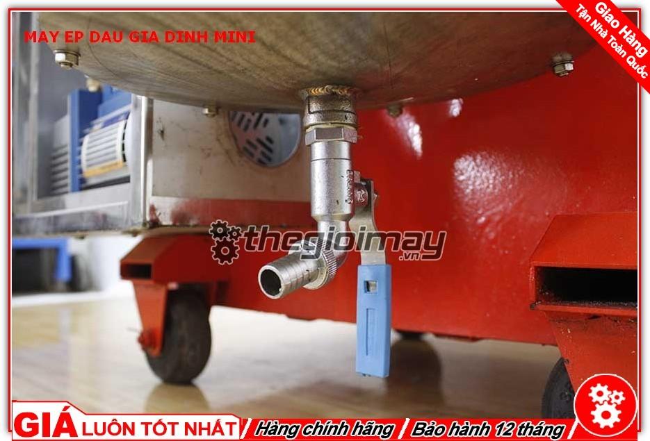 Ống xả dầu máy ép dầu mini OKASU TK39