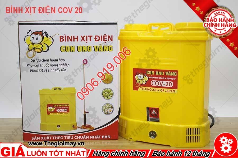 Bình xịt điện con ong vàng COV 20D