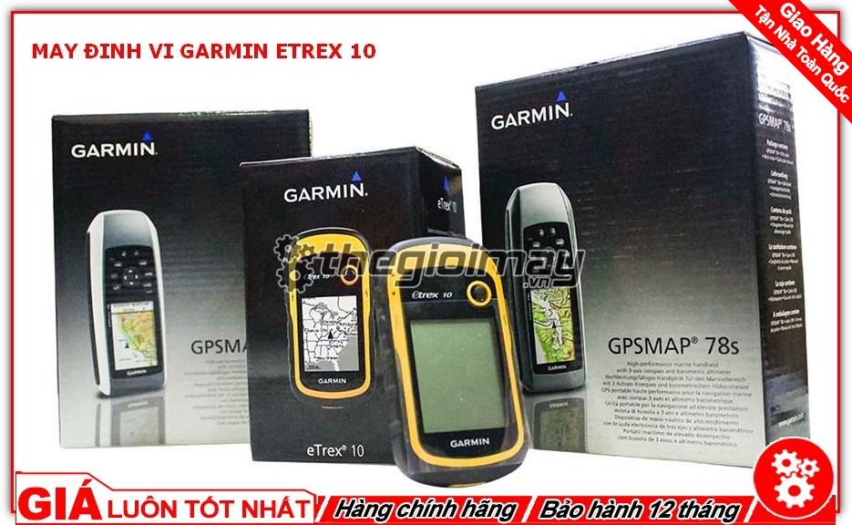 Hộp đựng sản phẩm máy định vị Garmin etrex 10
