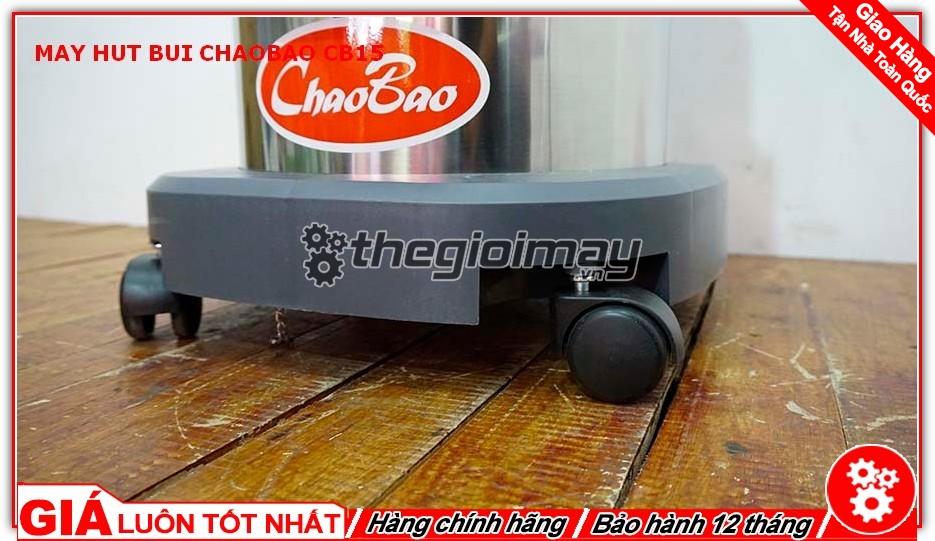 Bánh xe máy hút bụi ChaoBao CB15 (15L)