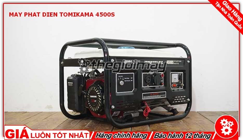Máy phát điện TOMIKAMA 4500S chất lượng