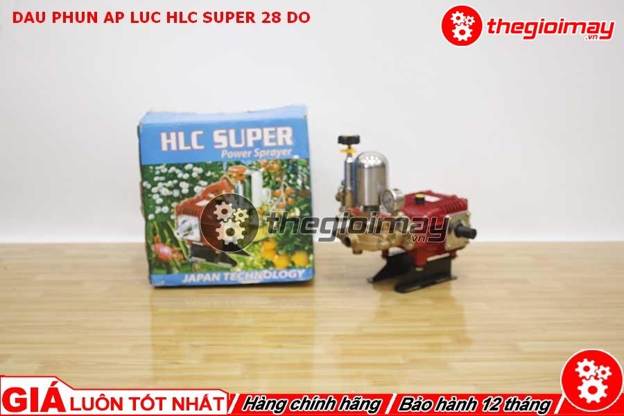 Đầu xịt HLC super 28 đỏ