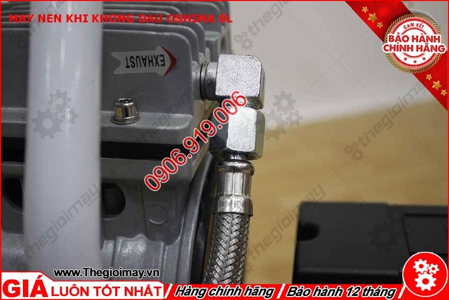 Khớp nối máy nén khí không dầu oshima 9l lít