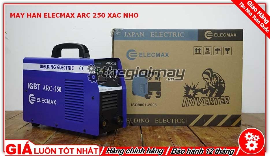 Máy hàn Elecmax ARC 250 xác nhỡ