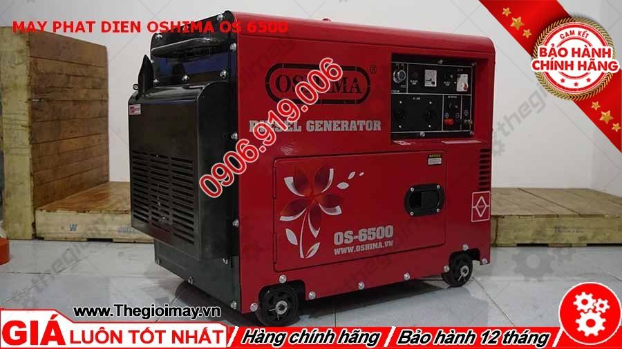 Hông trái máy phát điện Oshima OS 6500