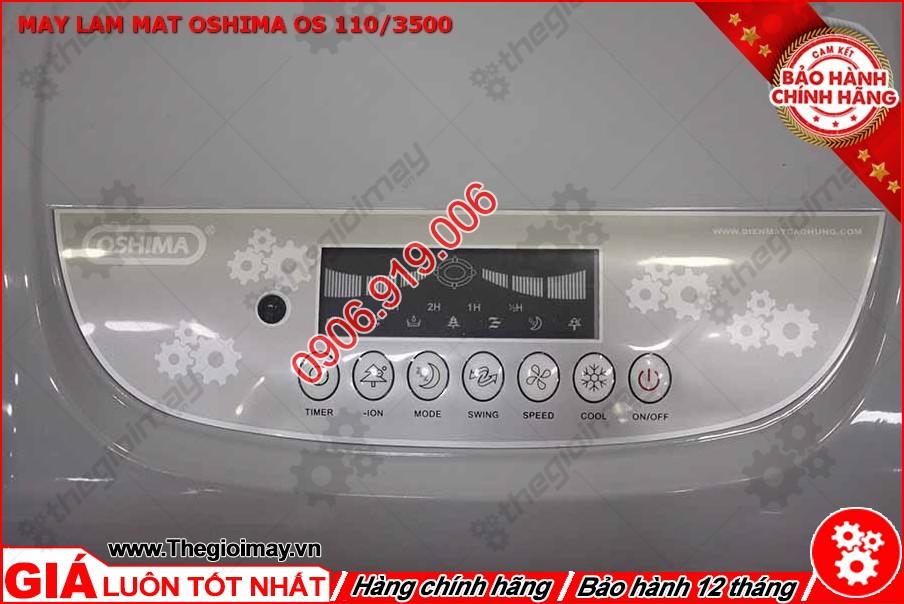 Bảng điều khiển của máy làm mát Oshima 110-3500
