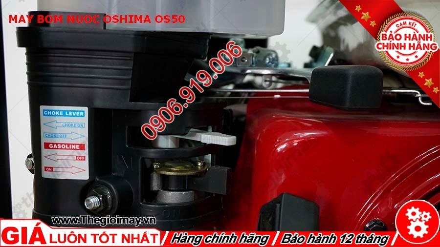 Tay ga và e gió máy bơm nước oshima OS 50
