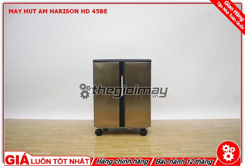 Mặt trước máy hút ẩm công nghiệp Harison HD-45BE