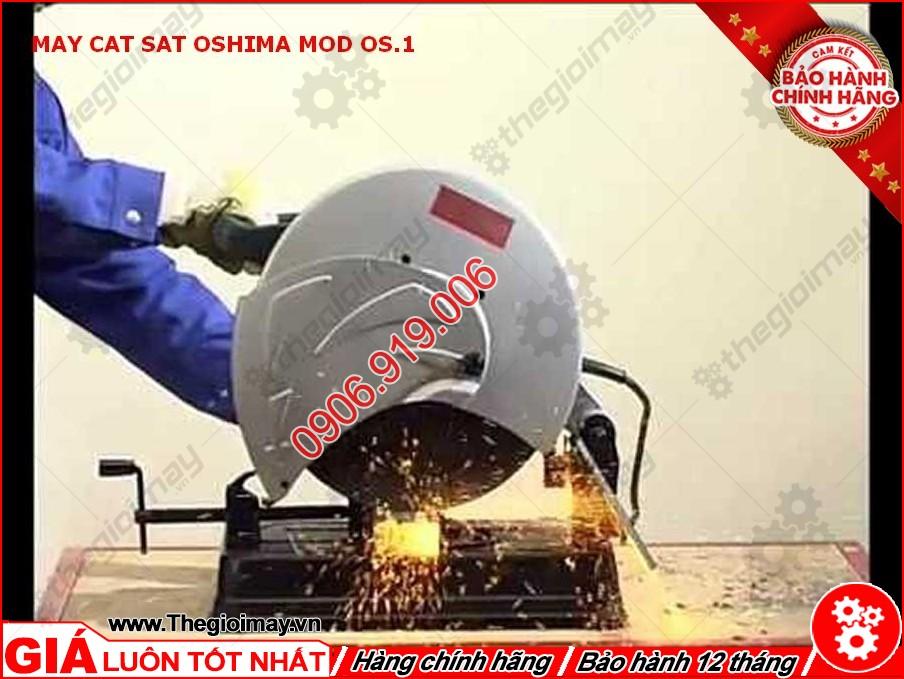 Thực hành máy cắt sắt oshima MOD OS1