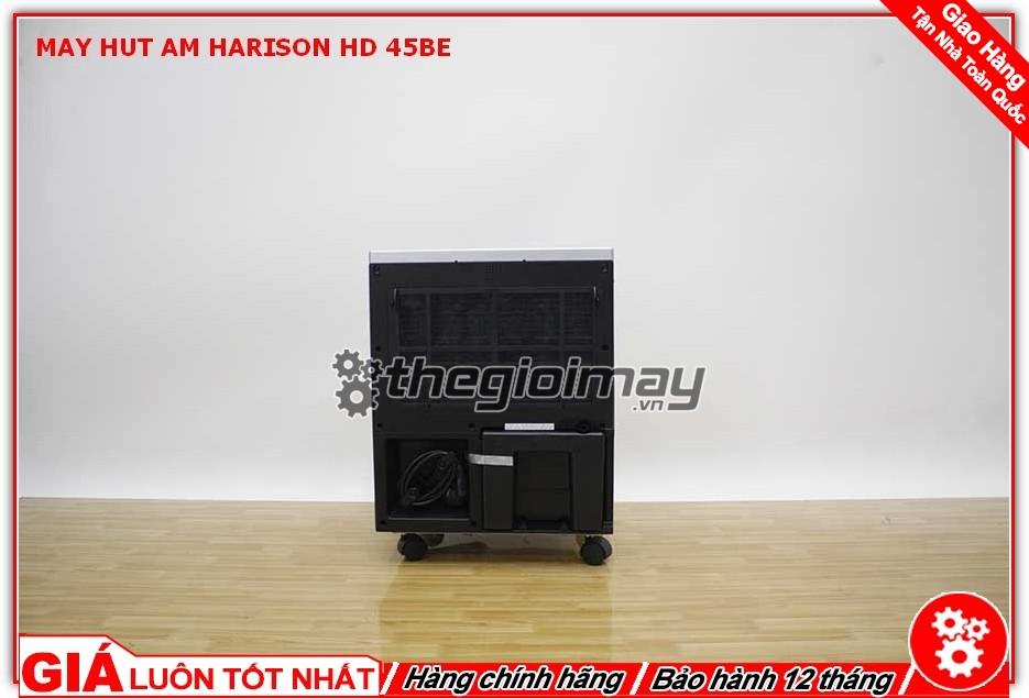 Mặt sau máy hút ẩm công nghiệp Harison HD-45BE