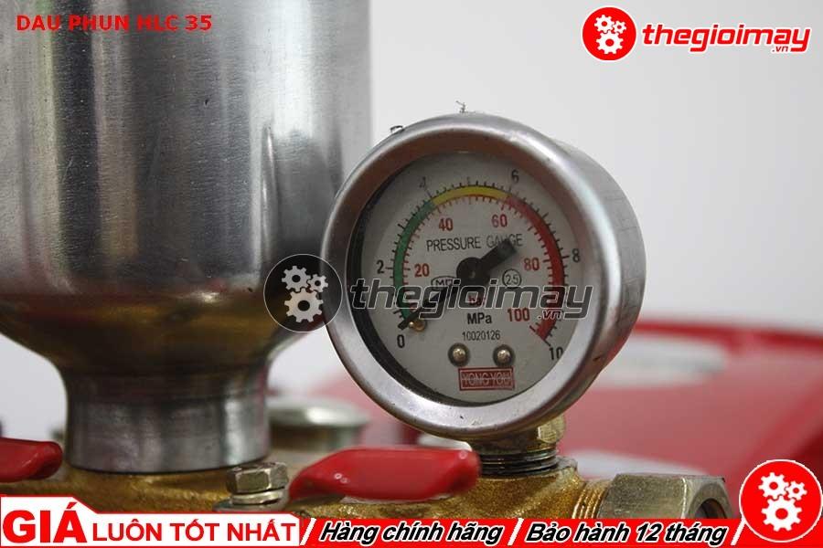 Đồng hồ đo áp lực của HLC-35