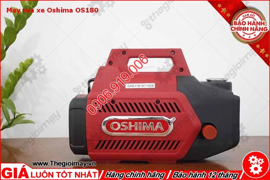 Mặt sau máy xịt rửa oshima OS 180