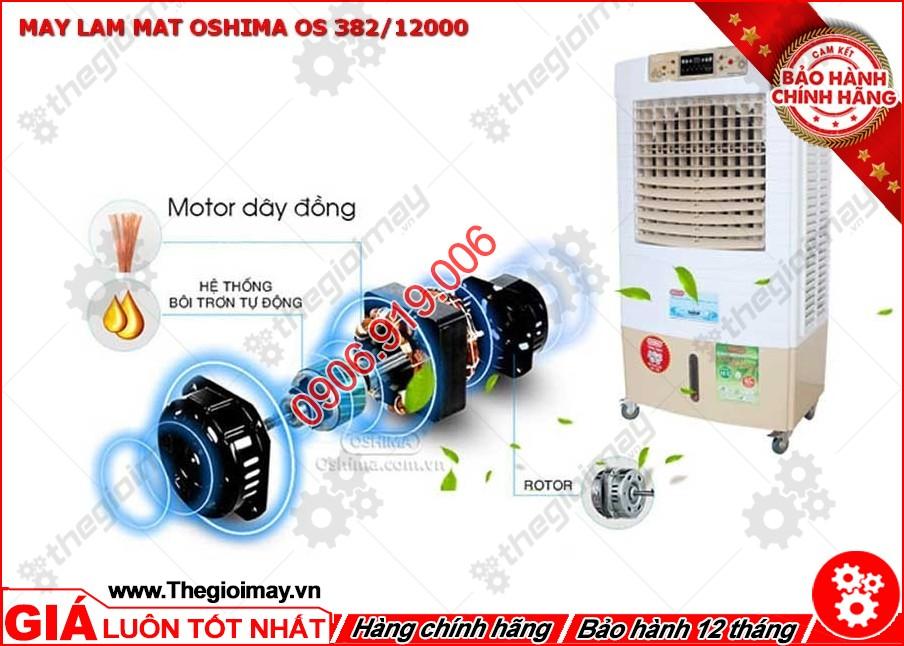 Motor của máy được làm từ dây đồng, đảm bảo chất lượng khi hoạt động