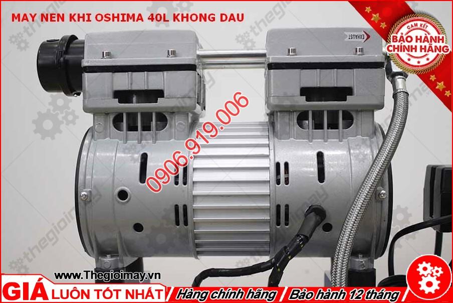 Động cơ máy nén khí không dầu oshima 40 lít