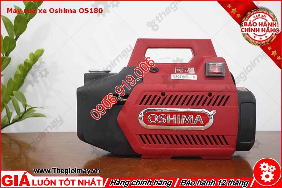 Mặt trước máy xịt rửa oshima OS 180