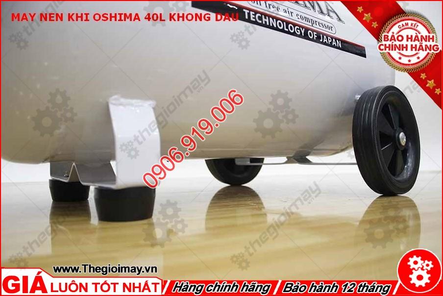 Chân đế máy nén khí không dầu oshima 40 lít