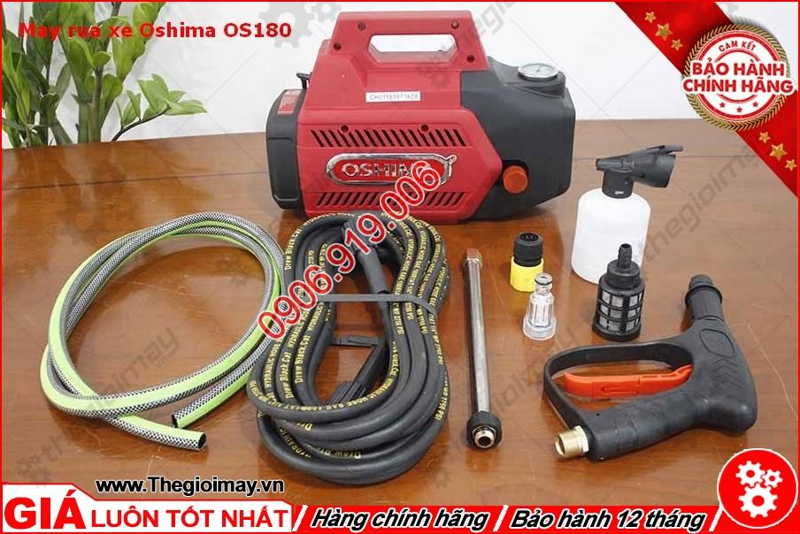 Phụ tùng máy xịt rửa oshima OS 180