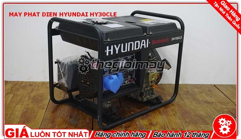 Máy phát điện HYUNDAI HY30CLE chất lượng