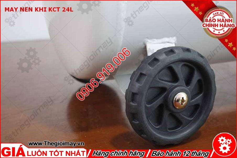 Bánh xe máy nén khí KCT 24 lít