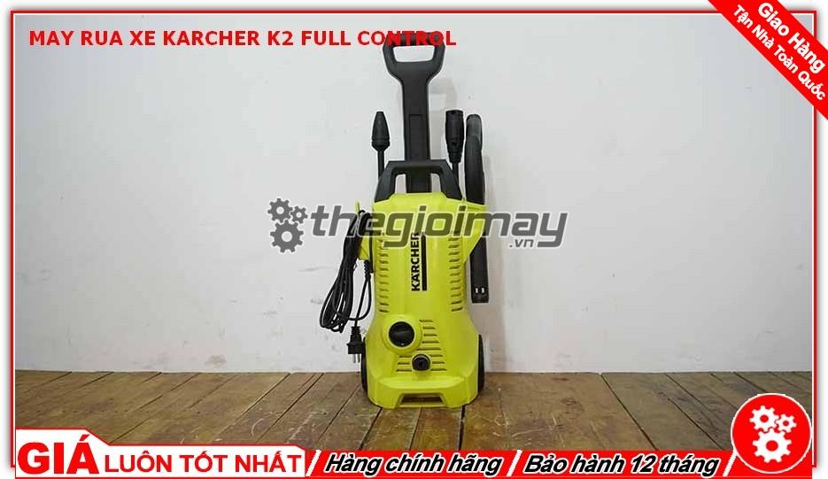 Máy rửa xe Karcher K2 full control EU