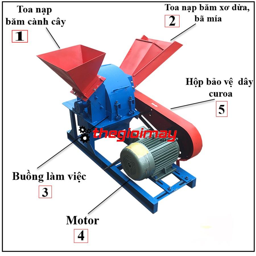 Các bộ phận máy băm gỗ đa năng