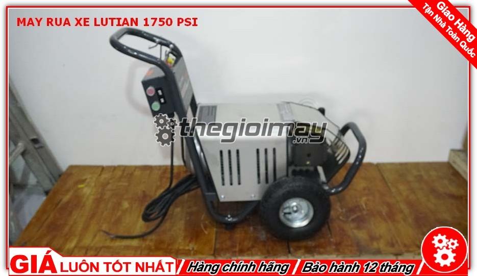 Máy rửa xe Lutian 1750 PSI là đại diện tiêu biểu cho dòng máy rửa xe dây đai