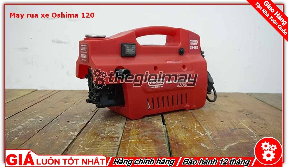Máy rửa xe gia đình thường được thiết kế nhỏ gọn dễ dàng di chuyển