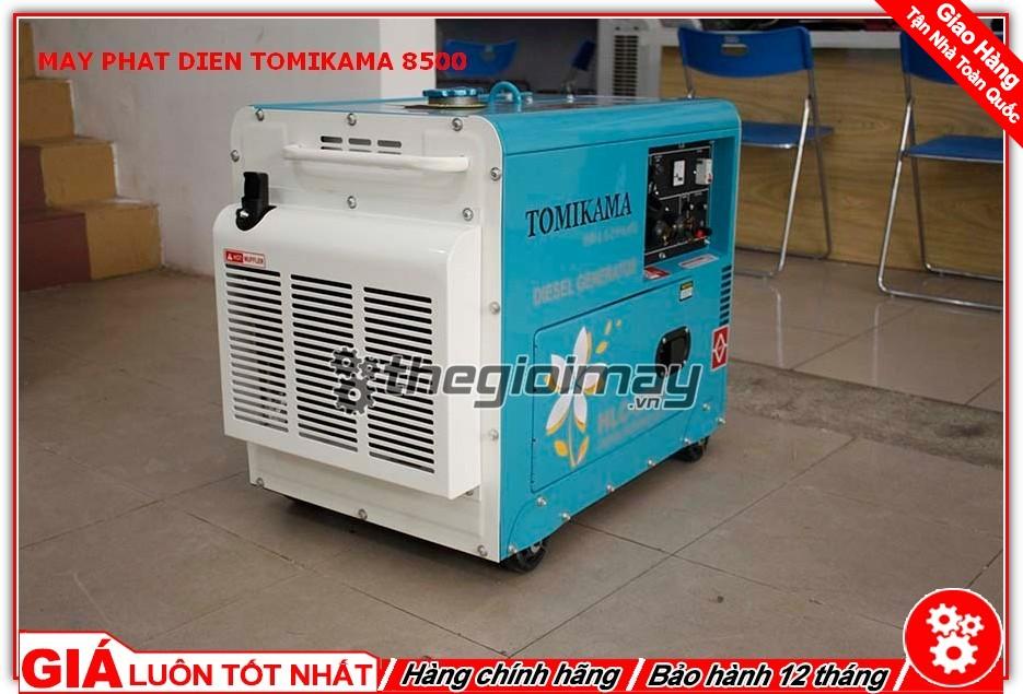 Động cơ của máy phát điện Tomikama HLC-8500 sử dụng cơ được sản xuất theo công nghệ hiện đại của Nhật Bản