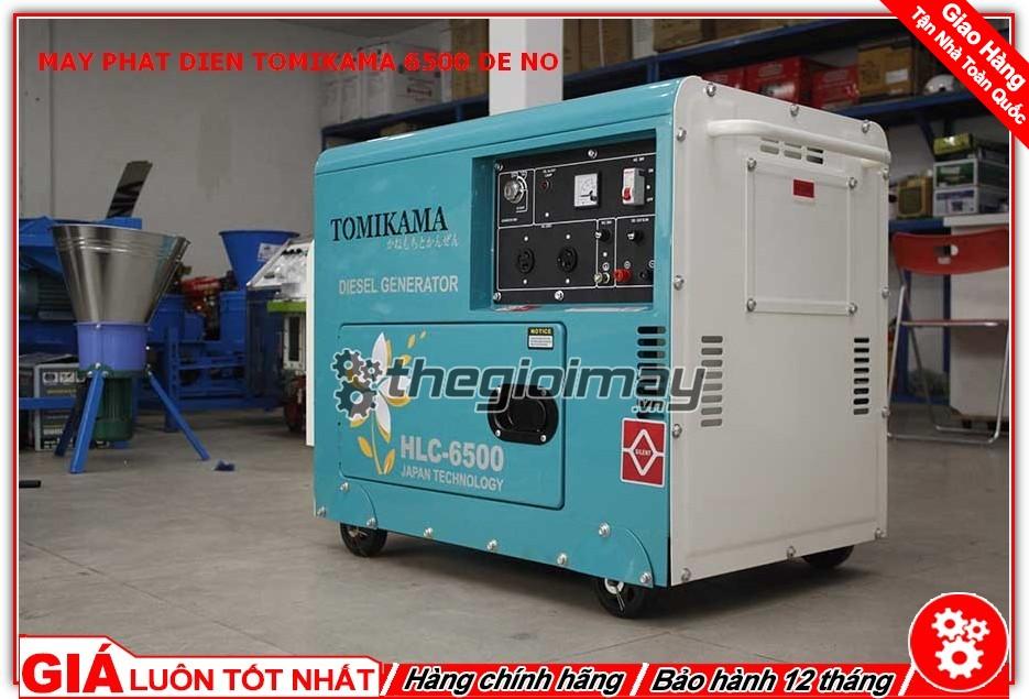 Tomikama HLC-6500 được trang bị chức năng phun nhiên liệu sơ cấp, đã làm cho những chiếc máy chạy dầu đời mới không còn gây tiếng ồn như những dòng máy đời cũ