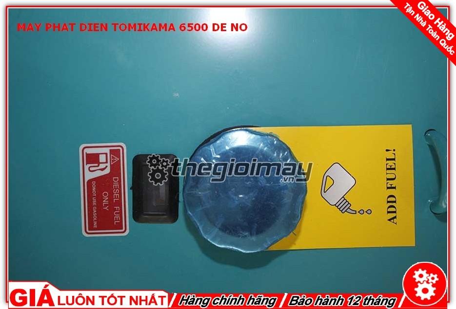 Nắp bình nhiên liệu của máy phát điện Tomikama HLC-6500
