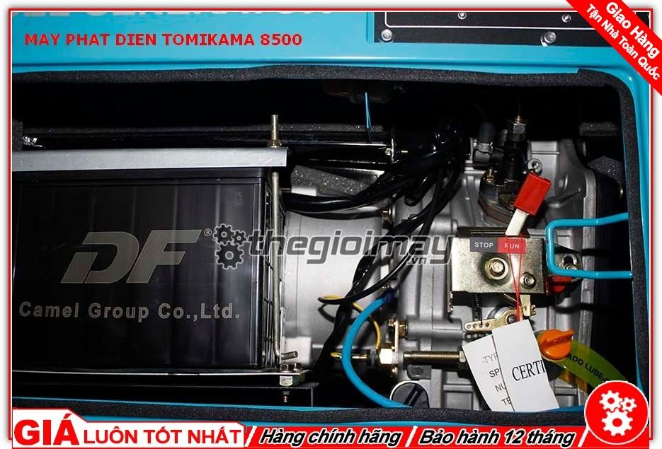 Động cơ của máy phát điện Tomikama HLC-8500