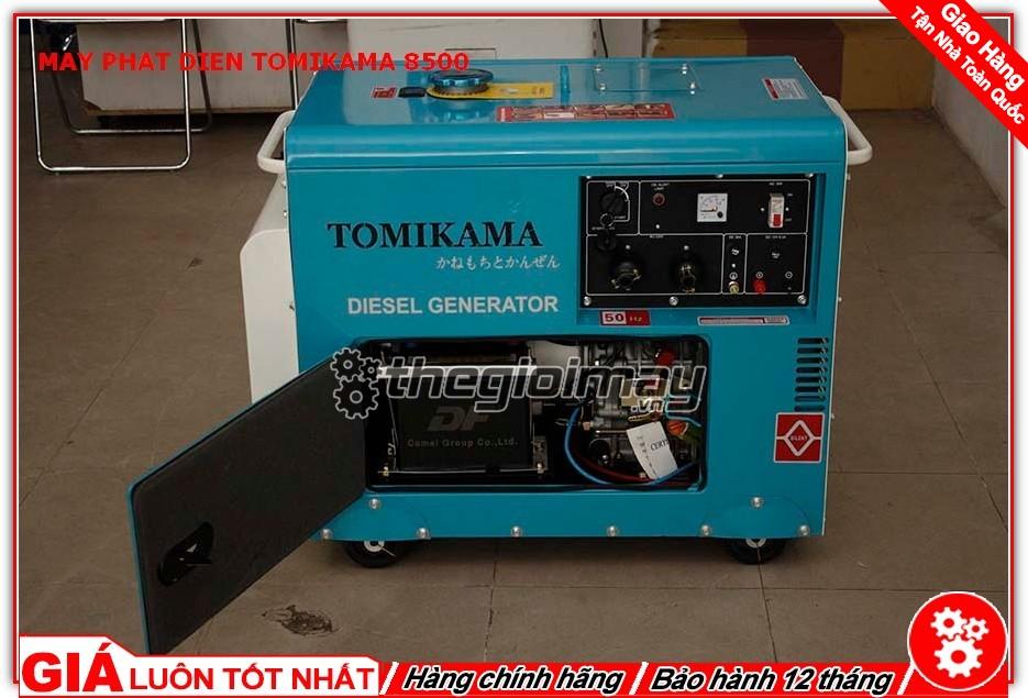 Máy phát điện Tomikama HLC-8500 chạy dầu
