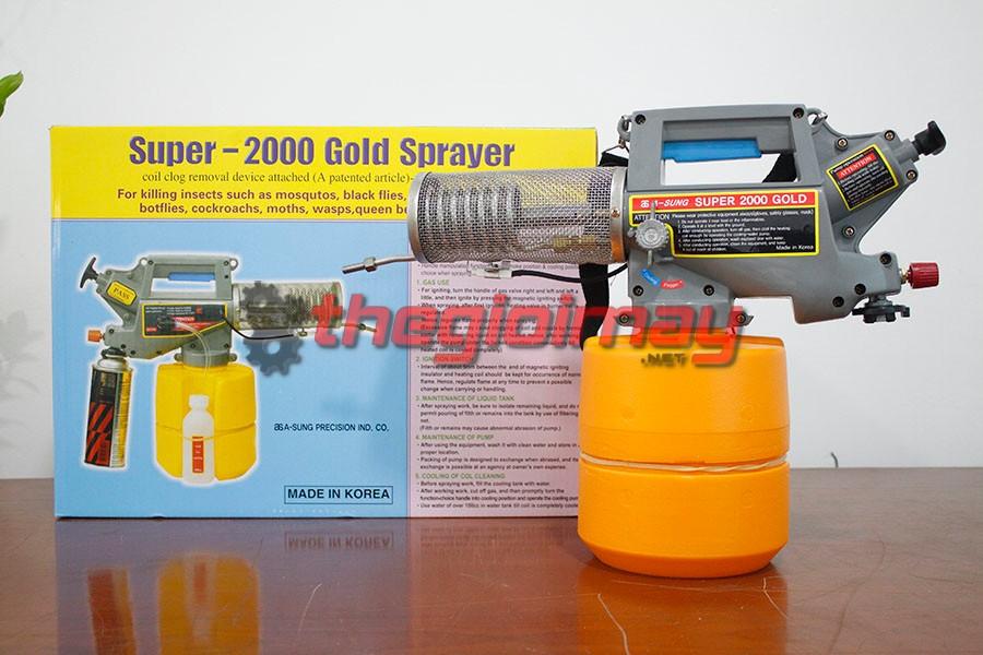 Máy phun khói mini Vinafarm VNPK 2000G