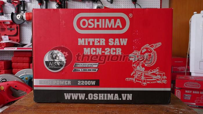 Máy cắt nhôm Oshima MCN-2CR uy tín